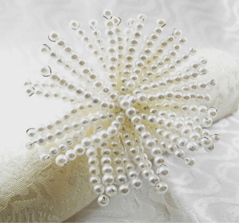 Napkin rings bulk wedding decor