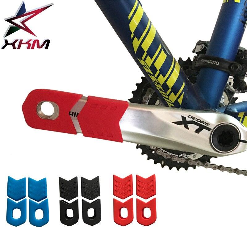 Crankset protective case silica gel mountain bike crankshaft set for 1 pair