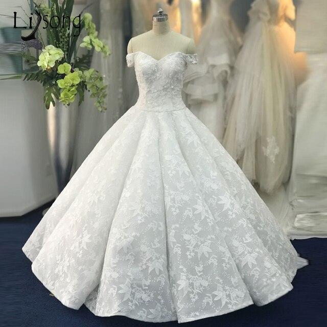 Aliexpress.com : Buy Lebanon Unique Lace Wedding Dresses 2018 ...