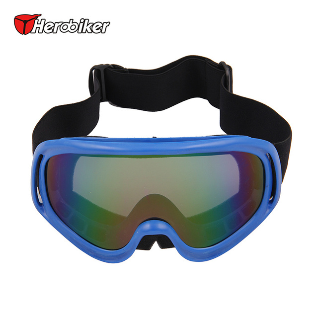 HEROBIKER Ski Snow Snowboard Glasses Motocross Off-Road ATV DH Dirt Bike Racing Goggles Motorcycle Snowmobile Skate Sled Eyewear