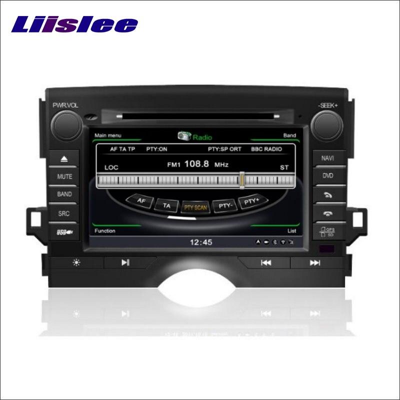 Liislee для Toyota Mark-X 2009 ~ 2015 dvd-плеер GPS nav Географические карты навигации Радио стерео CD ТВ ipod BT HD Экран мультимедиа Системы