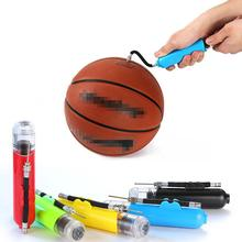 HOT Sale 2019 Plastic Inflatable Ball Hand Air Pump With 3 Needles 2 Nozzles For Football Soccer Volleyball