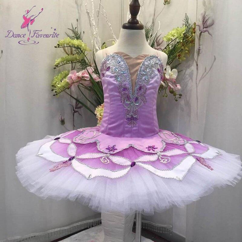 New arrival classical ballet tutu women & girl professional dance costume tutu ballerina lilac dance tutu