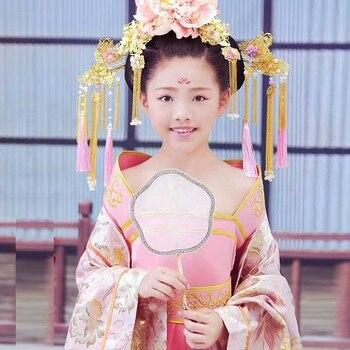 Man Ting Fang Tang Dynasty Pink Princess Hanfu Costume Thematic Photography Hanfu Stage Performance Costume вечернее платье ho man ting l014010 2015