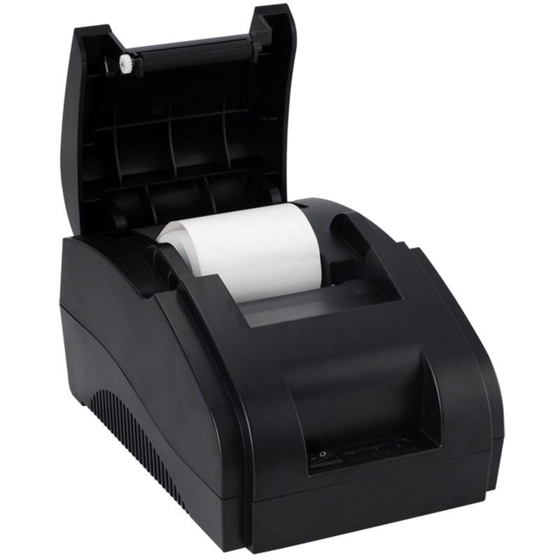 Thermosensitive printer Bluetooth 58mm small bill takeout printer supermarket cash registe