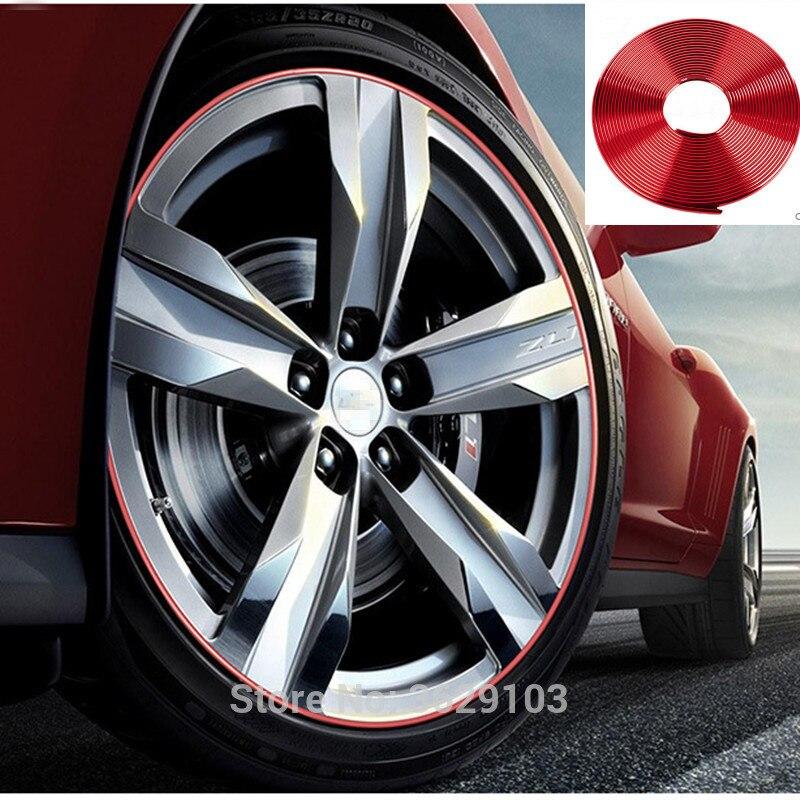 8m car-styling upgrade plating contour decorative adhesive paste accessories for ALFA ROMEO 147 159 156 mito giulietta 166