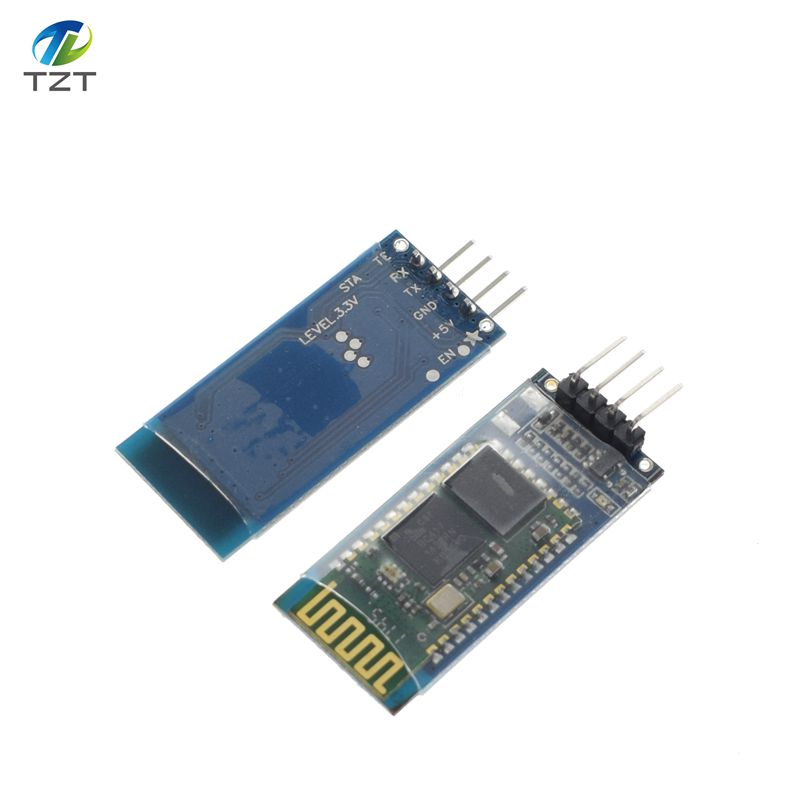 Free shipping! HC06 HC-06 Wireless Serial 4 Pin Bluetooth RF Transceiver Module RS232 TTL for Arduino bluetooth module Звуковая карта