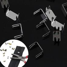3 5 8 10# нейлоновая молния портной стопор для инструментов швейная молния аксессуары для ремонта металлический стопор 5 цветов 30 шт