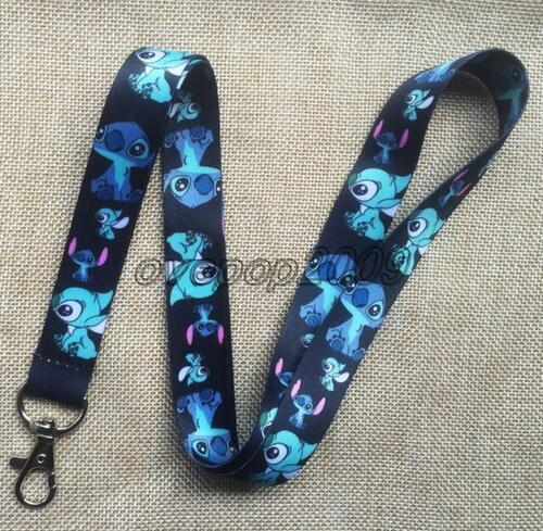 Special offer Sales promotion 1Pcs Cartoon Stitch Mobile Cell Phone Lanyard Neck Straps Party Gifts SM847
