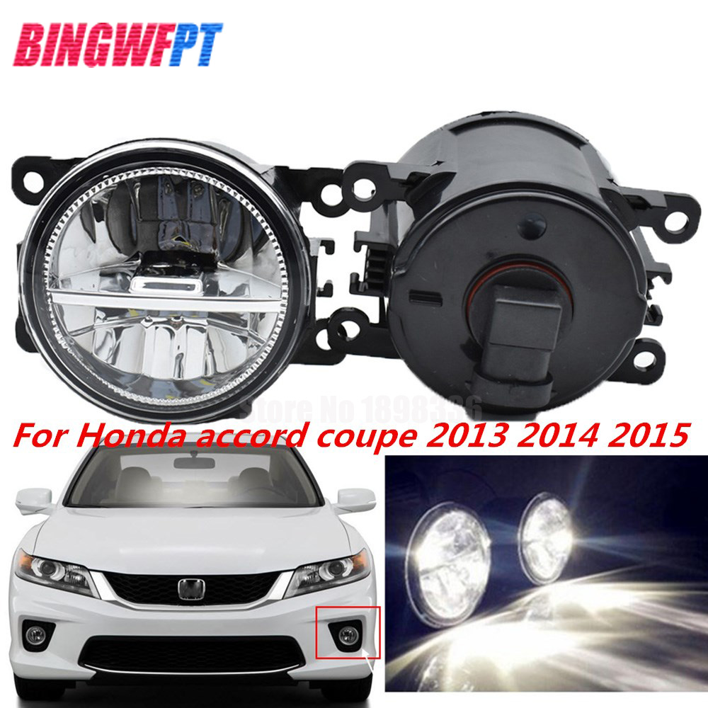1Pair High Quality Supre Bright Fog Light LED Fog Lamp For Honda Accord Coupe 2013 2014 2015