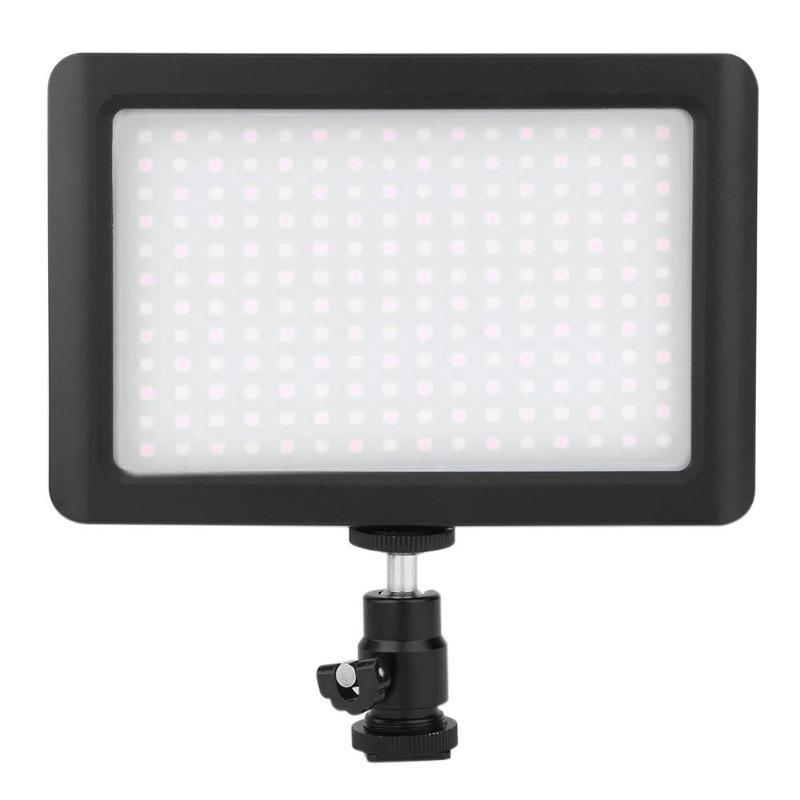 192 LED 12W Fill Light Studio Video Continuous Soft Light Lamp for Camera DV Camcorder 3200K-6000K Photographic Lighting цена