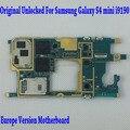 Original desbloqueado & europa versão motherboard mainboard para samsung galaxy s4 mini i9190/i9195 com chip, 100% bom trabalho