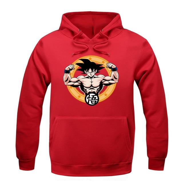 Unisex Dragon Ball Z Themed Hoodie Sweatshirt