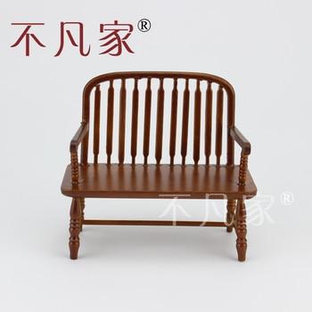 цена на Fine Dollhouse 1/12 Scale Miniature furniture handmade wood chair