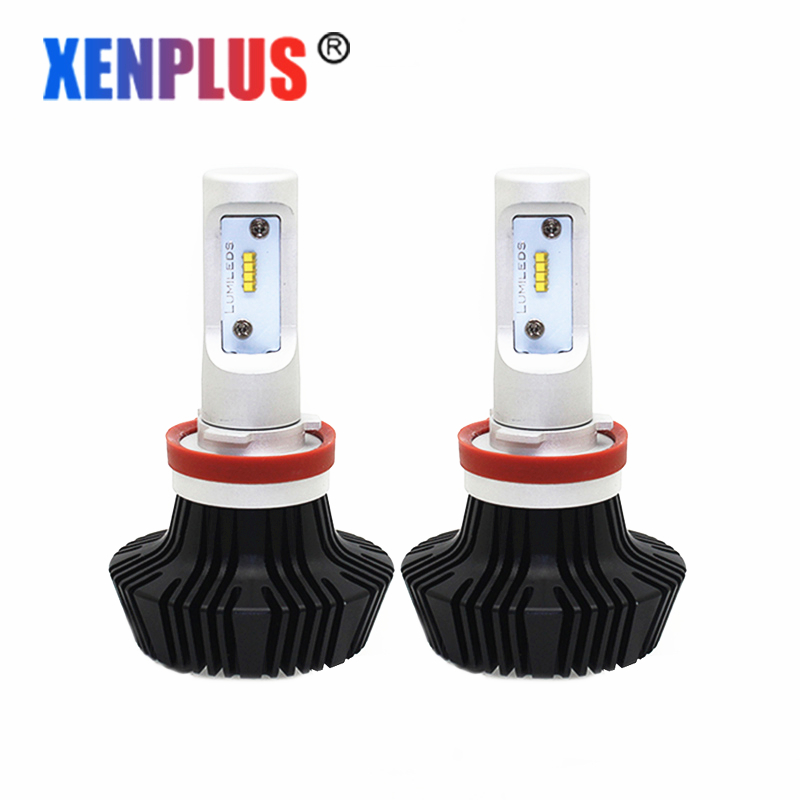 Xenplus H11 led auto lamps 6000K 8000LM 12V H3 H15 H7 H1 H8/H9 H13 880/H27 9004 9005/HB3 9006/HB5 9007 9012 Car led headlights дефлектор auto h k gt 36964