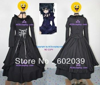 D.Gray-Man Lenalee Lee Princess Lolita dress cosplay costume include petticoat