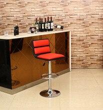 Европейский стиль бар красный стул розничная КТВ ночной клуб белый стул чайный стол кафе стул бесплатная доставка