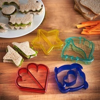 Set Of 10 Animal Shape Sandwich Mold Toast Cookies Cake Bread Biscuit Cutter Mould DIY Tools