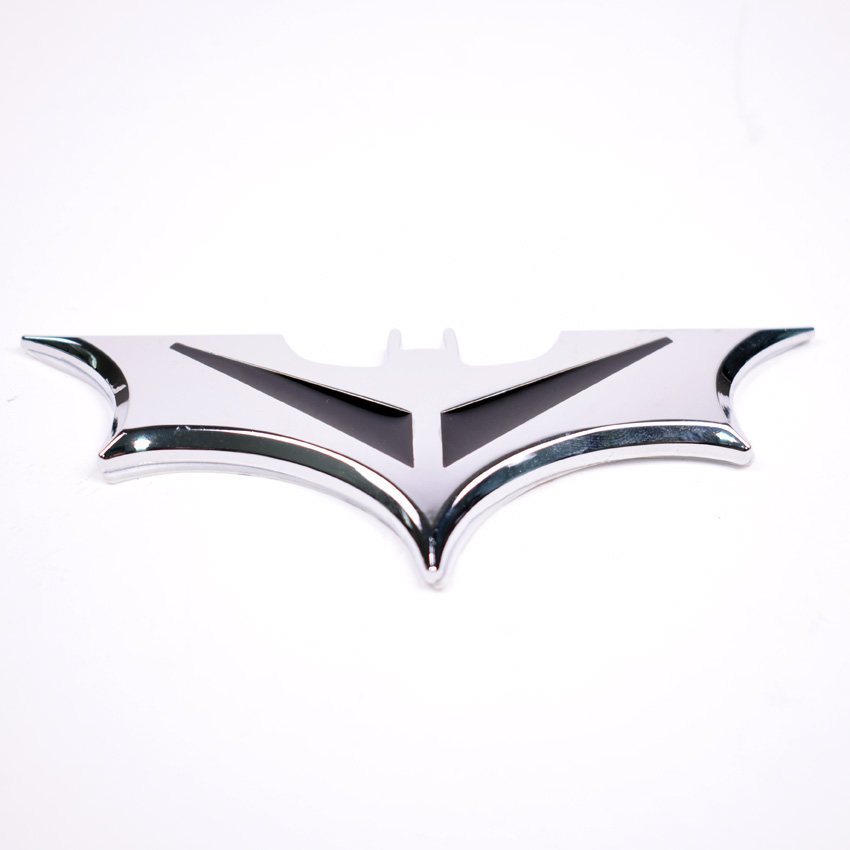 3 Colors Auto Car Bat Batman Fender Side Tail Trunk Emblem Badge Decal Sticker Car-styling Covers For Universal Car use