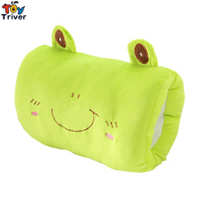 Plush Cartoon Totoro Frog  Panda Cat Pig Rabbit Winter Hand Warm Hands Warmer Pillow Kids Girl Birthday Gift