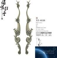 Çin ahşap kapı kolları antik bronz kapı kolu cam kapi kolu Avrupa tarzı otel kavrama Kolu