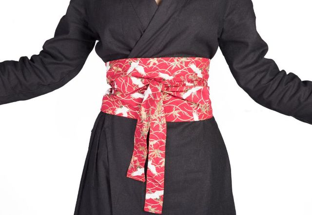 dbbfe111dc2e D origine multi-modèles Kimono obi Longue femme Plat En Forme De Ceinture  pour
