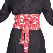 2281a53a36f9c Original Multi-patterns Kimono obi Women's Long Flat Shaped Belt for Kimono  Yukata Robe Bathrobe