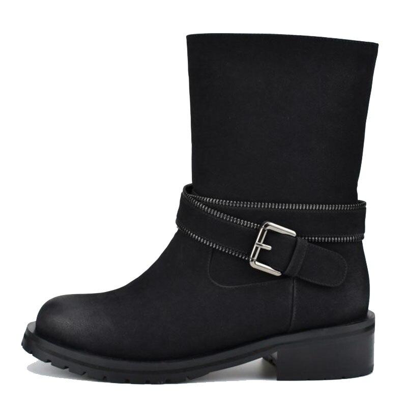 Bottes Chaude Bout À Fourrure Lady 42 Chaussures Qualité Noir Appartements Lebaluka Hauts Taille Office Haute Hiver Talons 35 Rond Femmes De 8wv0NOmn