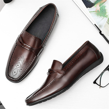 men leather summer casual shoes male sneakers Shoes