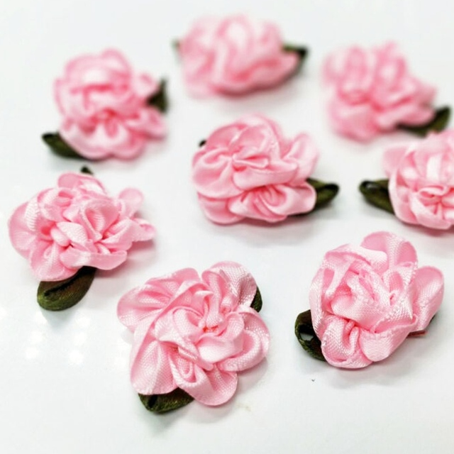 Hl 30pcs pink ribbon flowers handmade flowers wedding decoration diy hl 30pcs pink ribbon flowers handmade flowers wedding decoration diy appliques garment hair sewing accessories a982 mightylinksfo