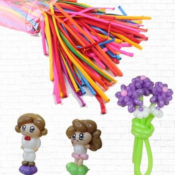 50pcs/pack Colorful Magic Balloons Long Balloon Modelling