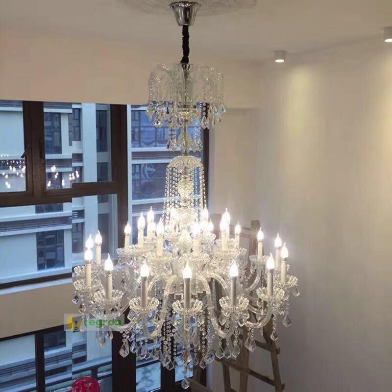 stairwell H 185cm hündür tavan çilçıraq otel işıqlandırma - Daxili işıqlandırma - Fotoqrafiya 2