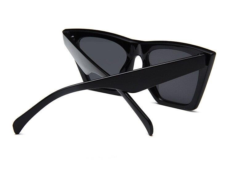ASUOP2018 New ladies retro cat eye glasses high-end brand travel fashion men's sunglasses sports square UV400 transparent sunglasses (8)