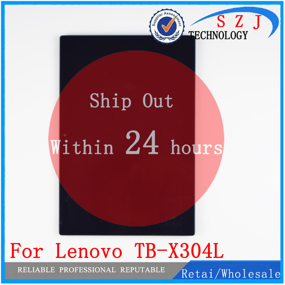 "New For 10.1"" Lenovo Tab 4 TB-X304L TB-X304F TB-X304N TB-X304 Touch Screen Panel Digitizer Glass / LCD Display Matrix Assembly"