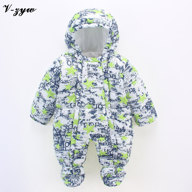 Newborn Baby Boys Clothing Baby Snowsuit Winter Boy Rompers Cartoon Infant Clothes Baby Rompers Snowsuit Babies Jumpsuits winter newborn baby girls clothing boys rompers cartoon infant clothes down snowsuit babies jumpsuits christmas clothing 2016