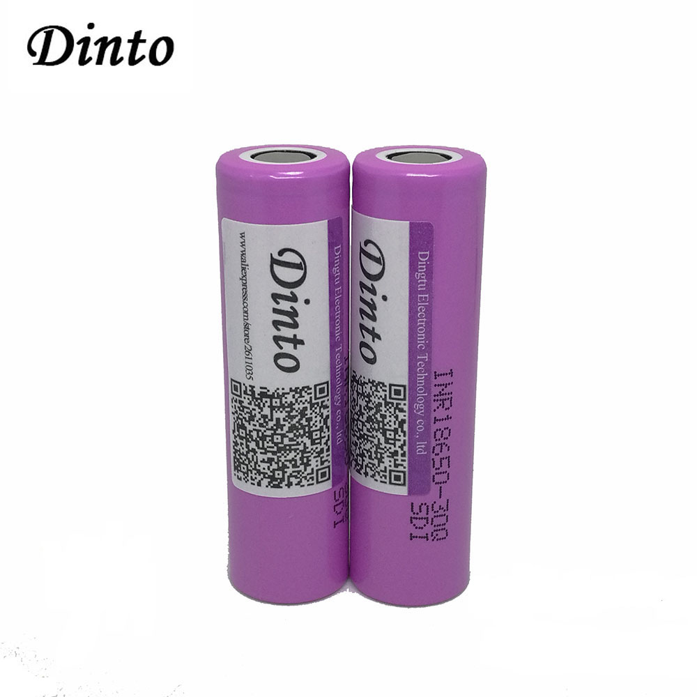Aliexpress.com : Buy 2pcs 3000mAh High Power 18650 Li ion Lithium Rechargeable Battery for