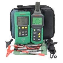 Cable tester MASTECH MS6818 avanzada perseguidor de múltiples funciones Digital detector de Cable de 12 ~ 400 V Pipe Localizador Metros Con blacklight