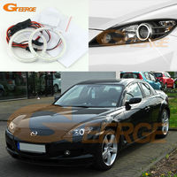 For Mazda RX8 Rx 8 2004 2008 Excellent Led Angel Eyes Ultrabright Illumination Smd Led Angel