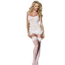 White Dress Woman Sexy Lingerie font b Intimate b font Costumes Erotic Clothing for Female Underwear