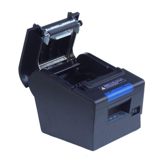 Imprimante thermique étanche 80mm, 300mm/sec, pour point de vente avec Interface USB + LAN + RS232, livraison gratuite 2