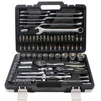 67PCS Ratchet Tool for Car Repair Socket Set Key Ratchet Set of Wrenches Car Tools Tool Box with Tools