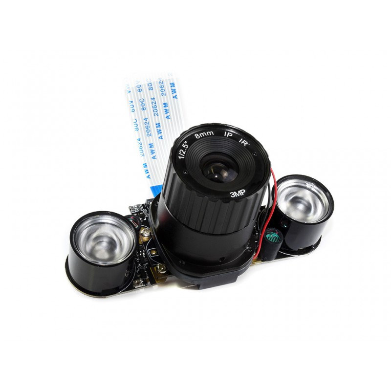 Raspberry Pi 4 Model B IR-CUT Camera  4mm Focal Adjustable Length Night Vision NoIR Camera For Raspberry Pi 3 Also