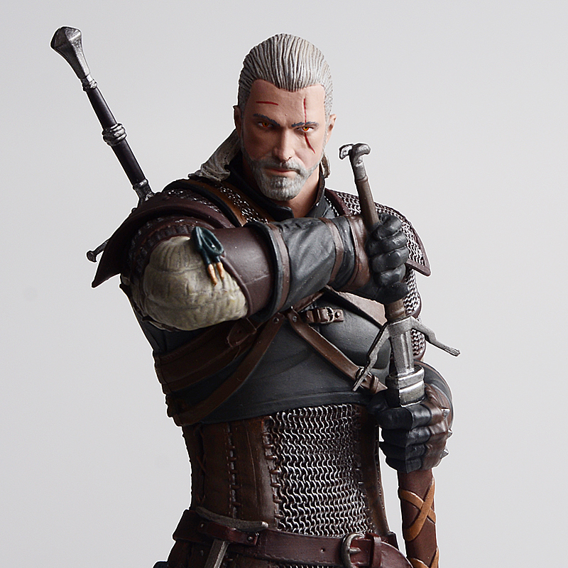 The Witcher 3: Wild Hunt Geralt Of Rivia Movie Figures Action & Toy Figures Pvc Model Collection For Christmas/birthday Gife
