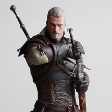 The Witcher 3: Wild Hunt Geralt Of Rivia Movie Figures Action & Toy Figures Pvc
