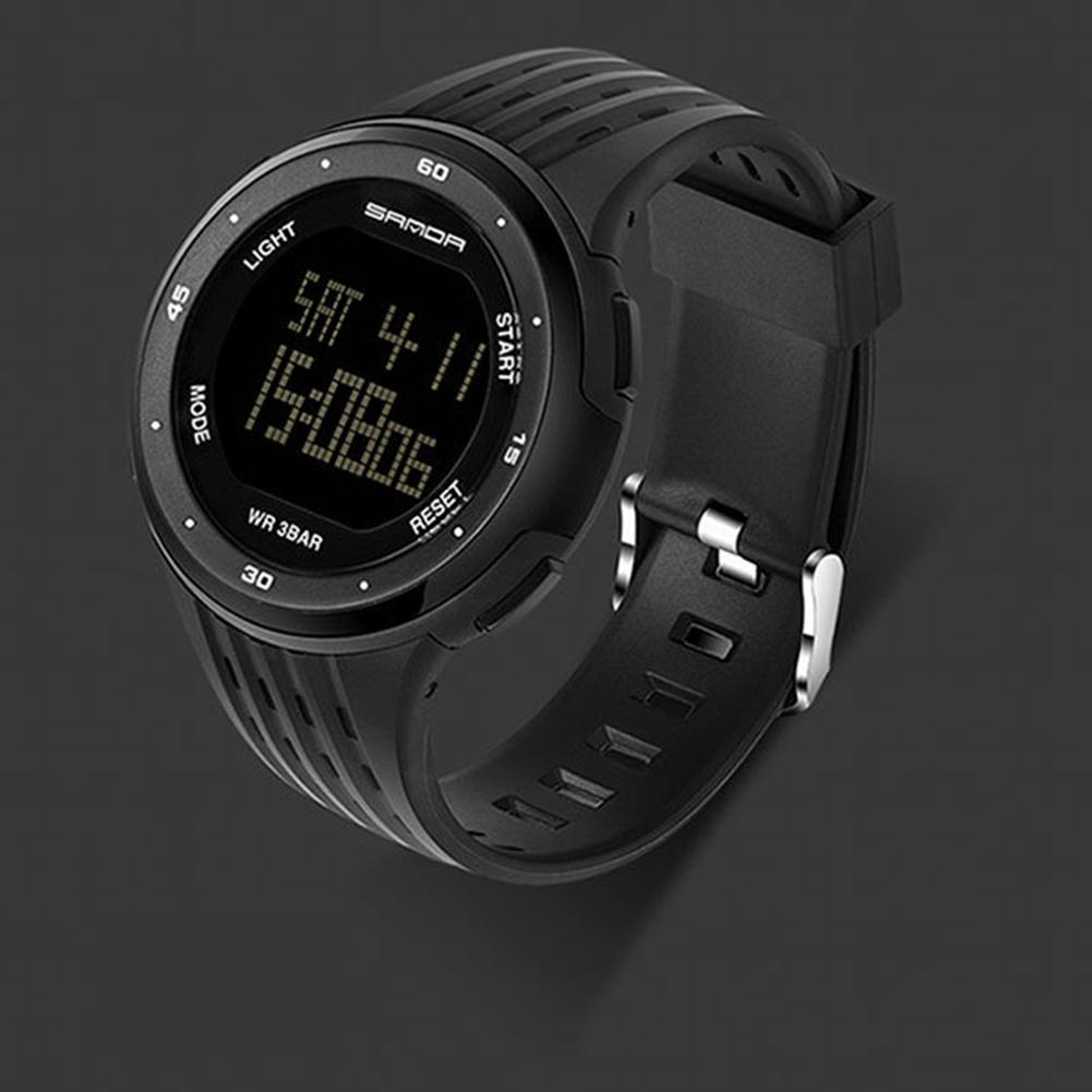 MISSKY Men Waterproof LED Display Watches Sport Casual Electronic Watch Students Outdoor Sports Wristwatch Gift San0