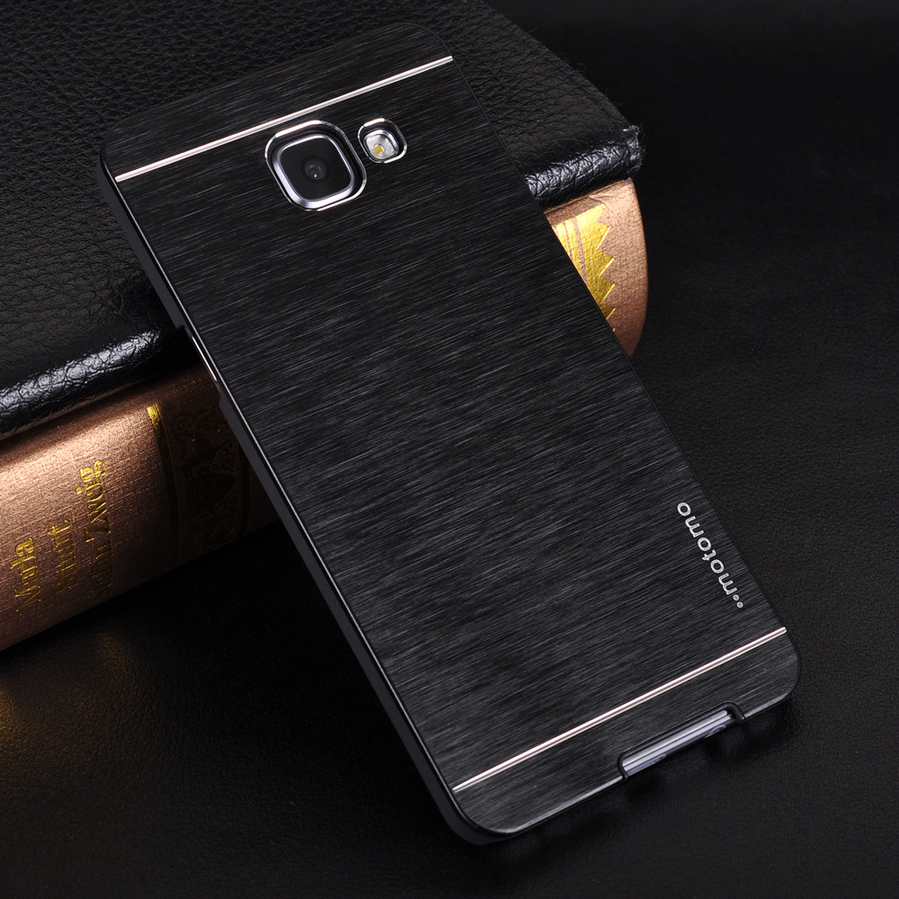 For Samsung A5 2016 Case Motomo Brushed Metal Hard Cover For Samsung Galaxy J7 J5 Prime A5 A3 A7 2015 S6 S7 Edge Note 4 5 Coque
