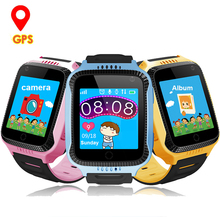 Cheaper GPS Tracker Children Watch Child Watches Kids Smart Wristwatch  Q528 Y21 Baby Camera SOS Call Clock Smartwatch for Boy and Girl