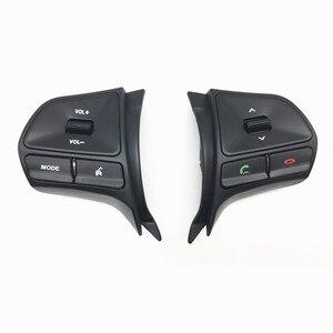 Image 3 - Für KIA RIO 2011 2014 multifunktionale lenkrad control taste Audio telefon lautstärke schalter für bluetooth auto zubehör