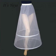 It s Yiiya Women White 2 Hoops A line Wedding Accessories Bridal Crinolines Vestidos De Novia