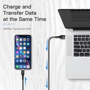 Image 2 - KUULAA Cavo USB Magnetico Per il iPhone 11 Pro X XR SE 8 7 6 Più Veloce di Ricarica USB Caricatore Magnete cavo Veloce Cavo di Ricarica Cavo USB